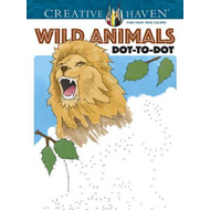 Creative Haven Wild Animals Dot-to-Dot (BOK)