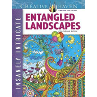 Creative Haven Insanely Intricate Entangled Landscapes Color (BOK)
