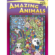 SPARK -- Amazing Animals Coloring Book (BOK)