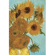 Produktbilde for Van Gogh's Sunflowers Notebook (BOK)