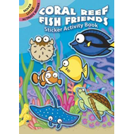 Coral Reef Fish Friends Sticker Activity Book (BOK)