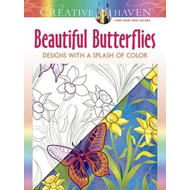 Creative Haven Beautiful Butterflies: Designs with a Splash (BOK)