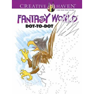 Creative Haven Fantasy World Dot-to-Dot (BOK)