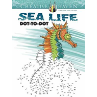 Creative Haven Sea Life Dot-to-Dot (BOK)