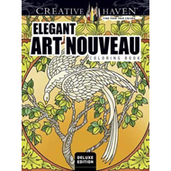 Creative Haven Deluxe Edition Elegant Art Nouveau Coloring B (BOK)