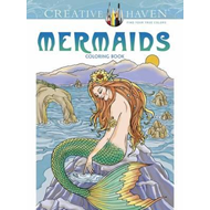 Creative Haven Mermaids Coloring Book (BOK)