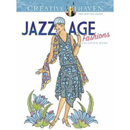 Creative Haven Jazz Age Fashions Coloring Book (BOK)