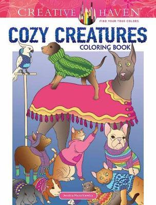Creative Haven Cozy Creatures Coloring Book (BOK)