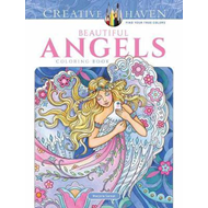 Creative Haven Beautiful Angels Coloring Book (BOK)