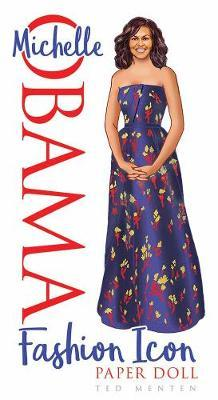 Michelle Obama Fashion Icon Paper Doll (BOK)