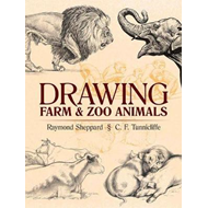 Drawing Farm and Zoo Animals (BOK)