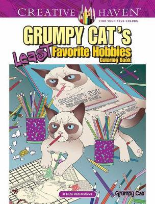 Creative Haven Grumpy Cat's Least Favorite Hobbies (BOK)