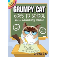 Grumpy Cat Goes to School Mini Coloring Book (BOK)