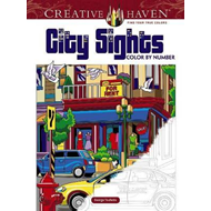 Creative Haven City Sights Color By Number (BOK)