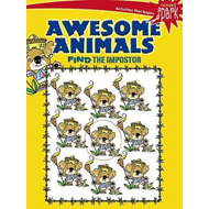 SPARK Awesome Animals Find the Impostor (BOK)