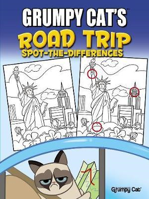 Grumpy Cat's Road Trip Spot-the-Differences (BOK)