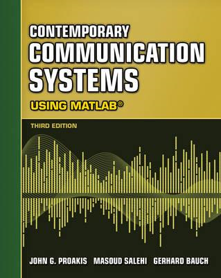 Contemporary Communication Systems Using MATLAB (BOK)
