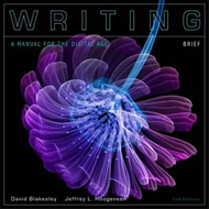 Writing: A Manual for the Digital Age (BOK)