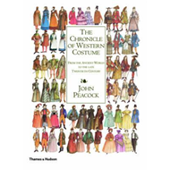 Produktbilde for The Chronicle of Western Costume - From the Ancient World to the Late Twentieth Century (BOK)