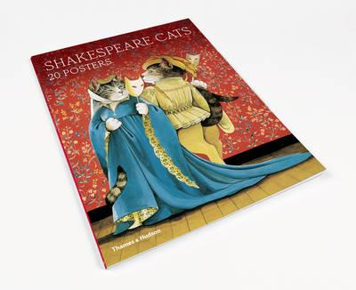 Shakespeare Cats: Poster Book (BOK)