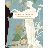 Age of Glamour: An Art Deco Colouring Book (BOK)