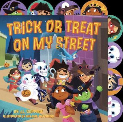 Trick Or Treat On My Street (BOK)