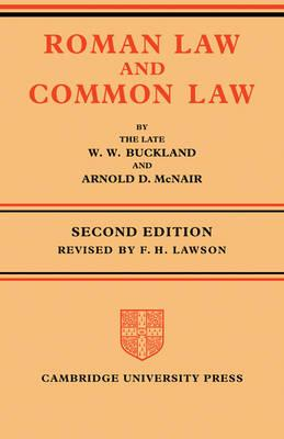Roman Law and Common Law (BOK)