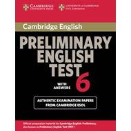 Cambridge Preliminary English Test 6 Student's Book with ans (BOK)