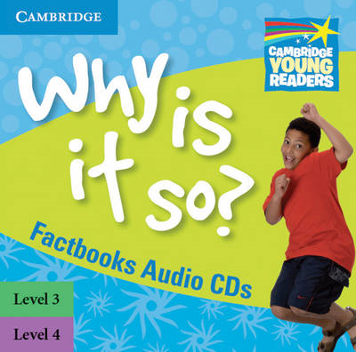 Why is it So? Levels 3-4 Factbook Audio CDs (2) (BOK)