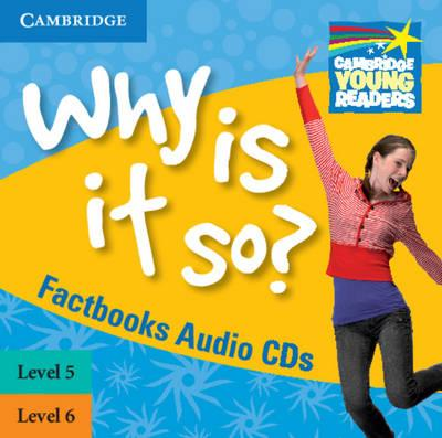 Why Is It So? Levels 5-6 Factbook Audio CDs (2) (BOK)