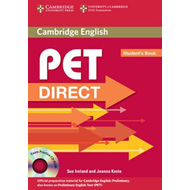 PET Direct Student's Book with Cd-rom (BOK)