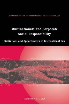 Multinationals and Corporate Social Responsibility (BOK)