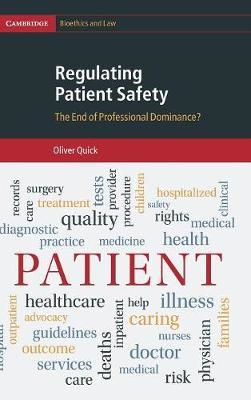 Regulating Patient Safety (BOK)