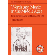 Words and Music in the Middle Ages (BOK)