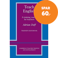 Produktbilde for Teach English Trainer's handbook - A Training Course for Teachers (BOK)