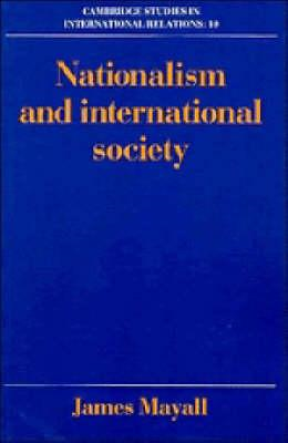 Nationalism and International Society (BOK)