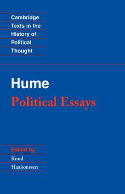Hume: Political Essays (BOK)