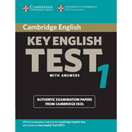 Cambridge Key English Test 1 Student's Book with Answers (BOK)