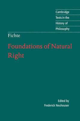 Foundations of Natural Right (BOK)