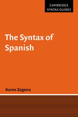 Syntax of Spanish (BOK)