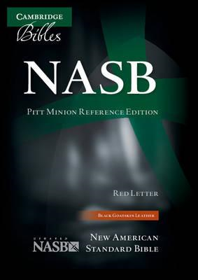 NASB Pitt Minion Reference Bible, Black Goatskin Leather, Re (BOK)