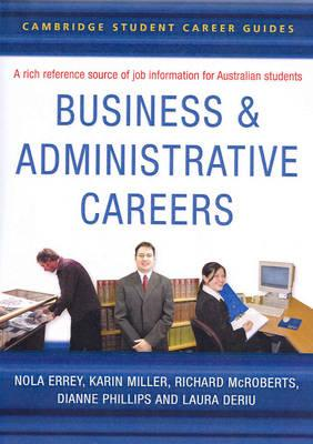 Cambridge Student Career Guides Business and Administrative (BOK)