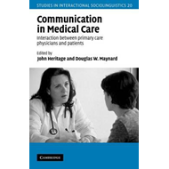 Communication in Medical Care (BOK)