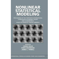 Nonlinear Statistical Modeling (BOK)