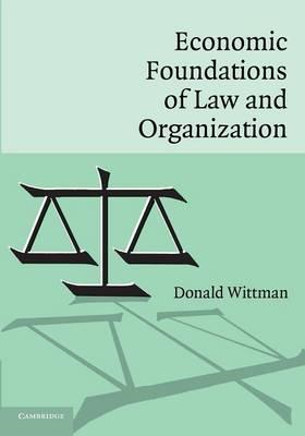 Economic Foundations of Law and Organization (BOK)