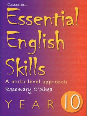 Essential English Skills Year 10: A Multi-level Approach (BOK)
