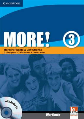 More! Level 3 Workbook with Audio CD (BOK)