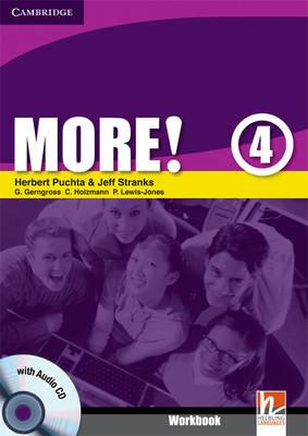 More! Level 4 Workbook with Audio CD: Level 4 (BOK)