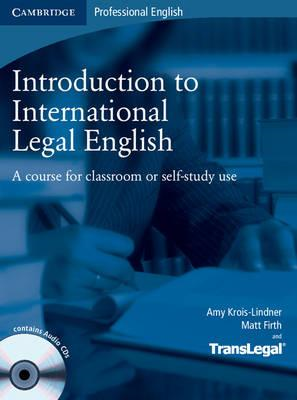Introduction to International Legal English Student's Book w (BOK)