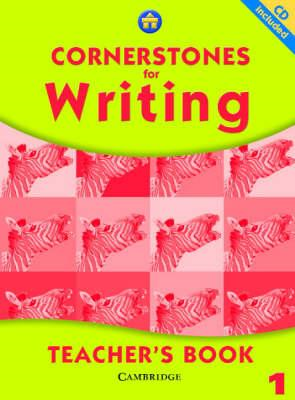 Cornerstones for Writing Year 1 Teacher's Book and CD (BOK)